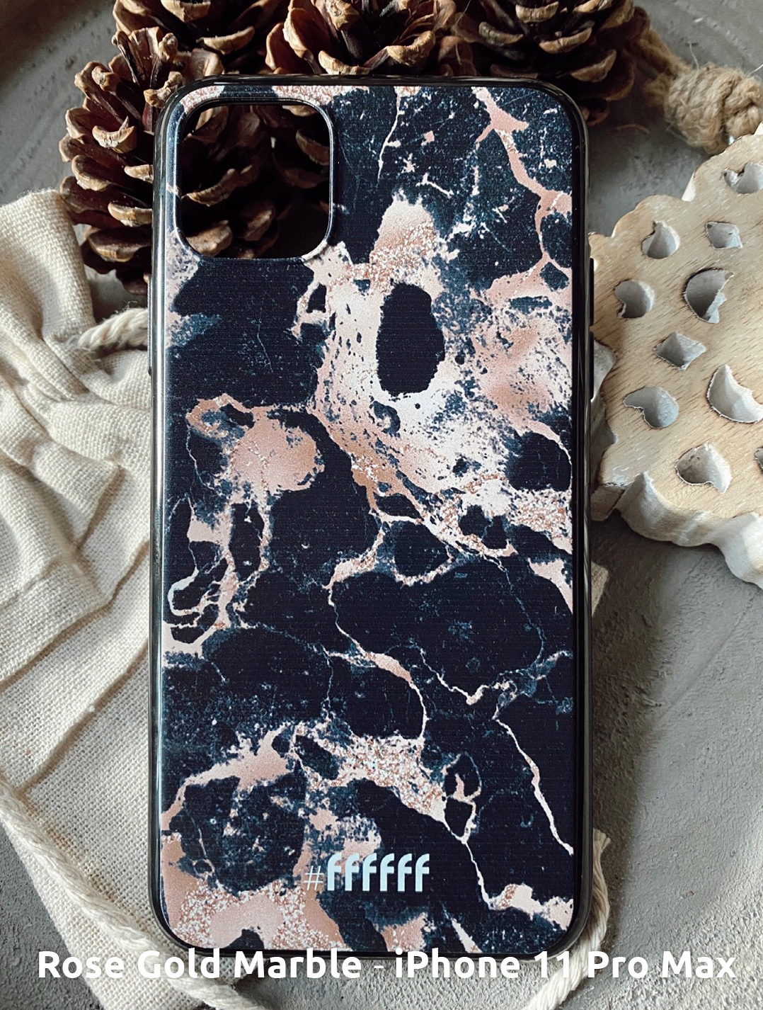 Rose Gold Marble - iPhone 11 Pro Max