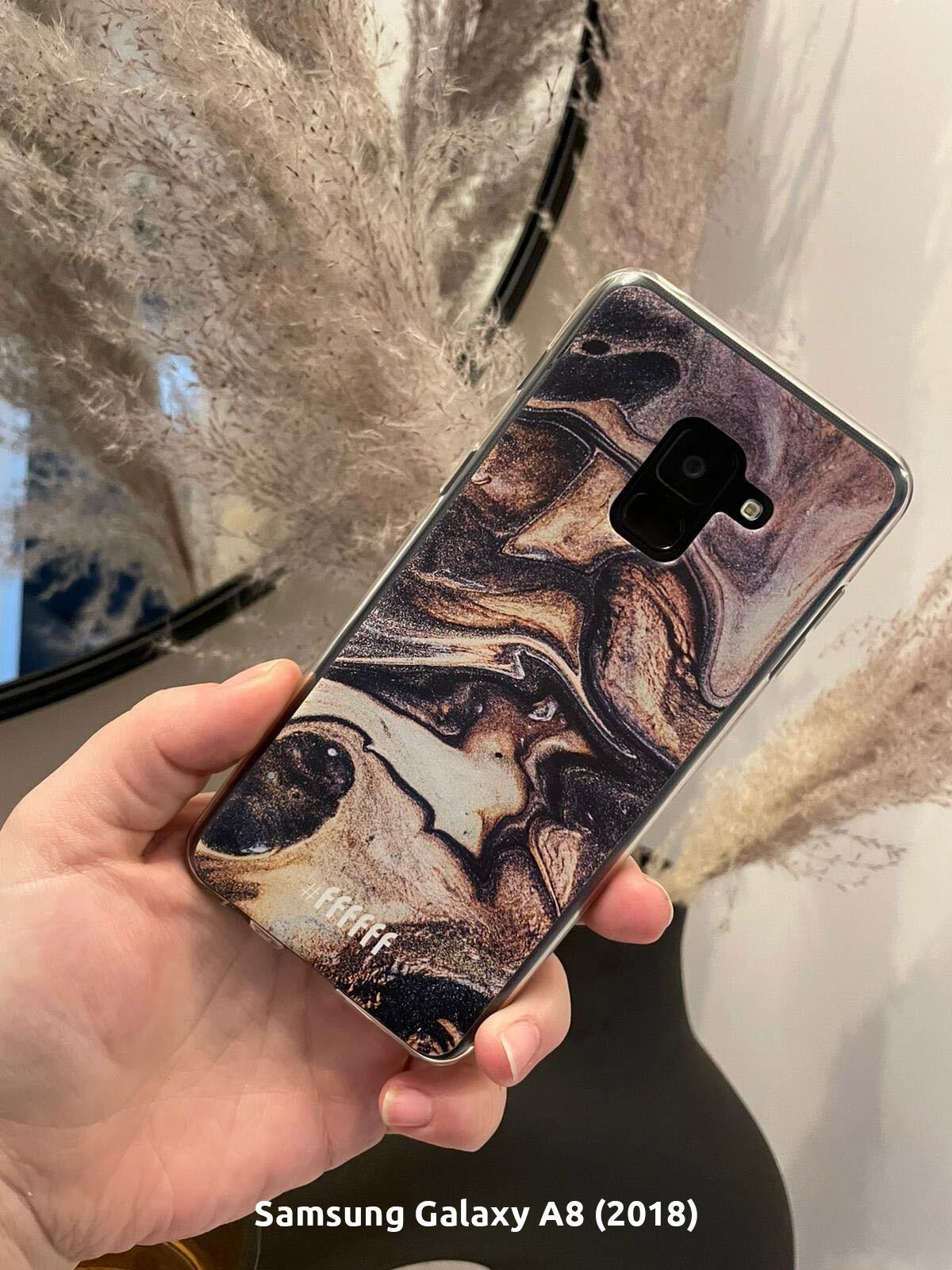 Wood Marble - Galaxy A8 (2018)