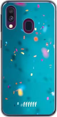 Confetti Galaxy A40