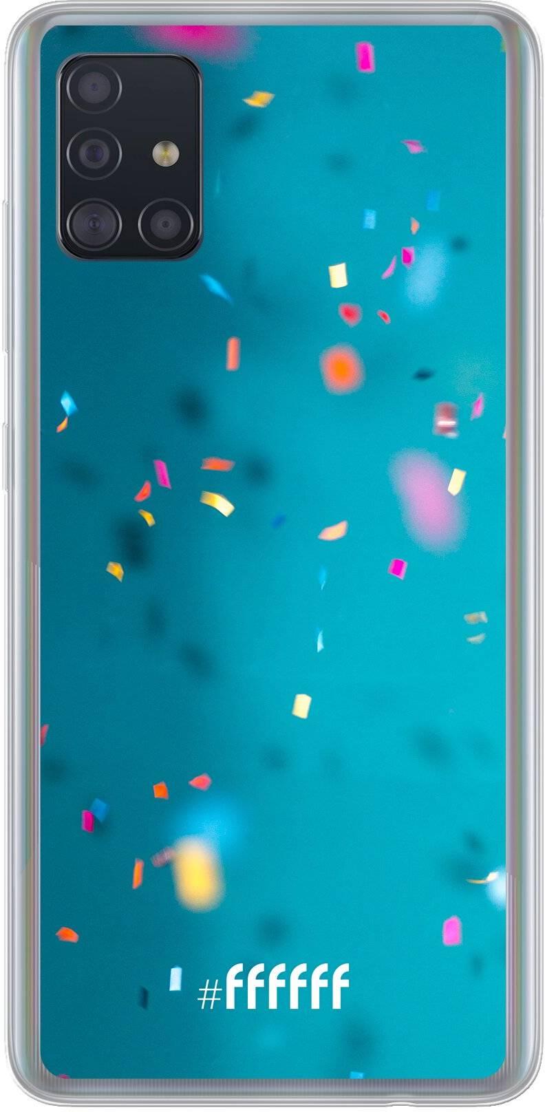 Confetti Galaxy A51