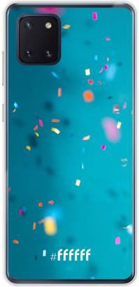 Confetti Galaxy Note 10 Lite