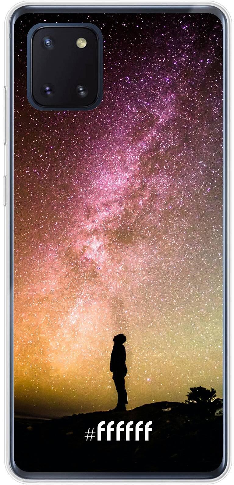 Watching the Stars Galaxy Note 10 Lite