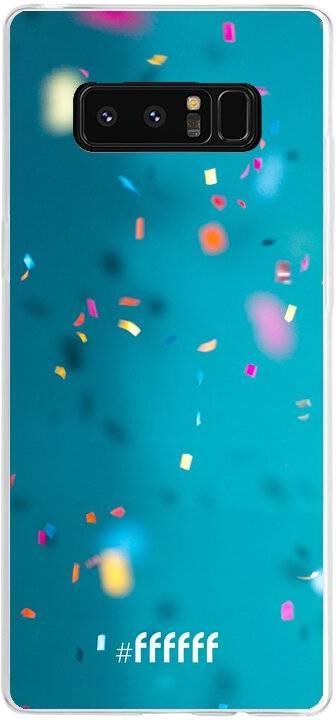 Confetti Galaxy Note 8
