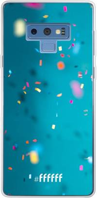 Confetti Galaxy Note 9