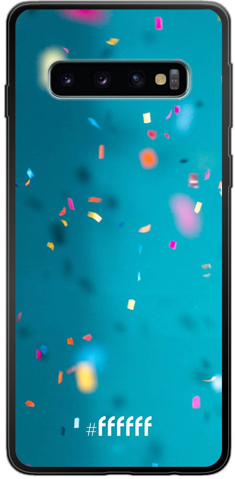 Confetti Galaxy S10