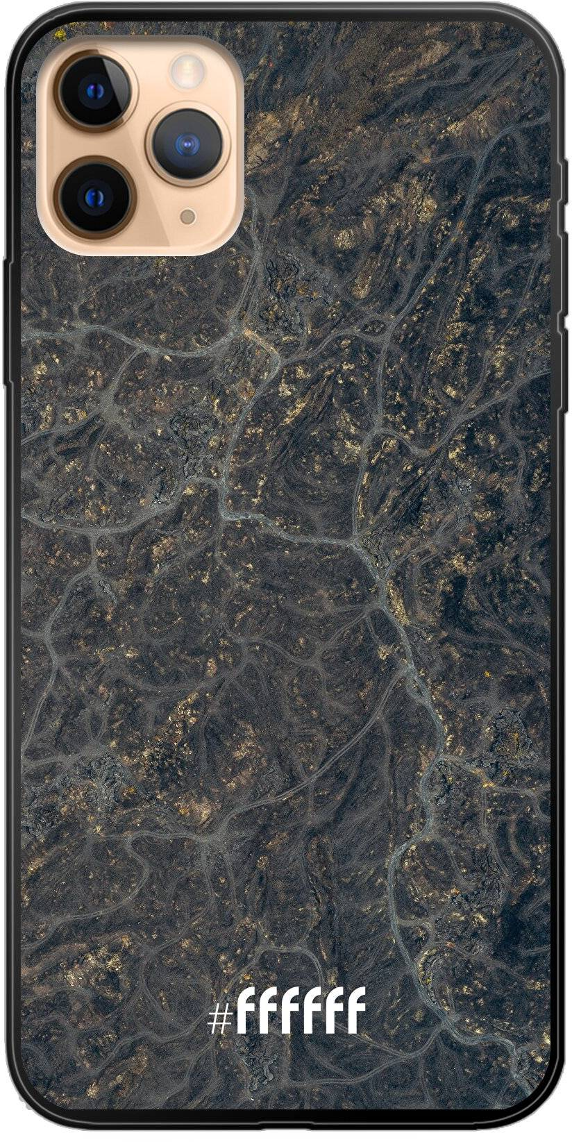 Golden Glitter Marble iPhone 11 Pro Max