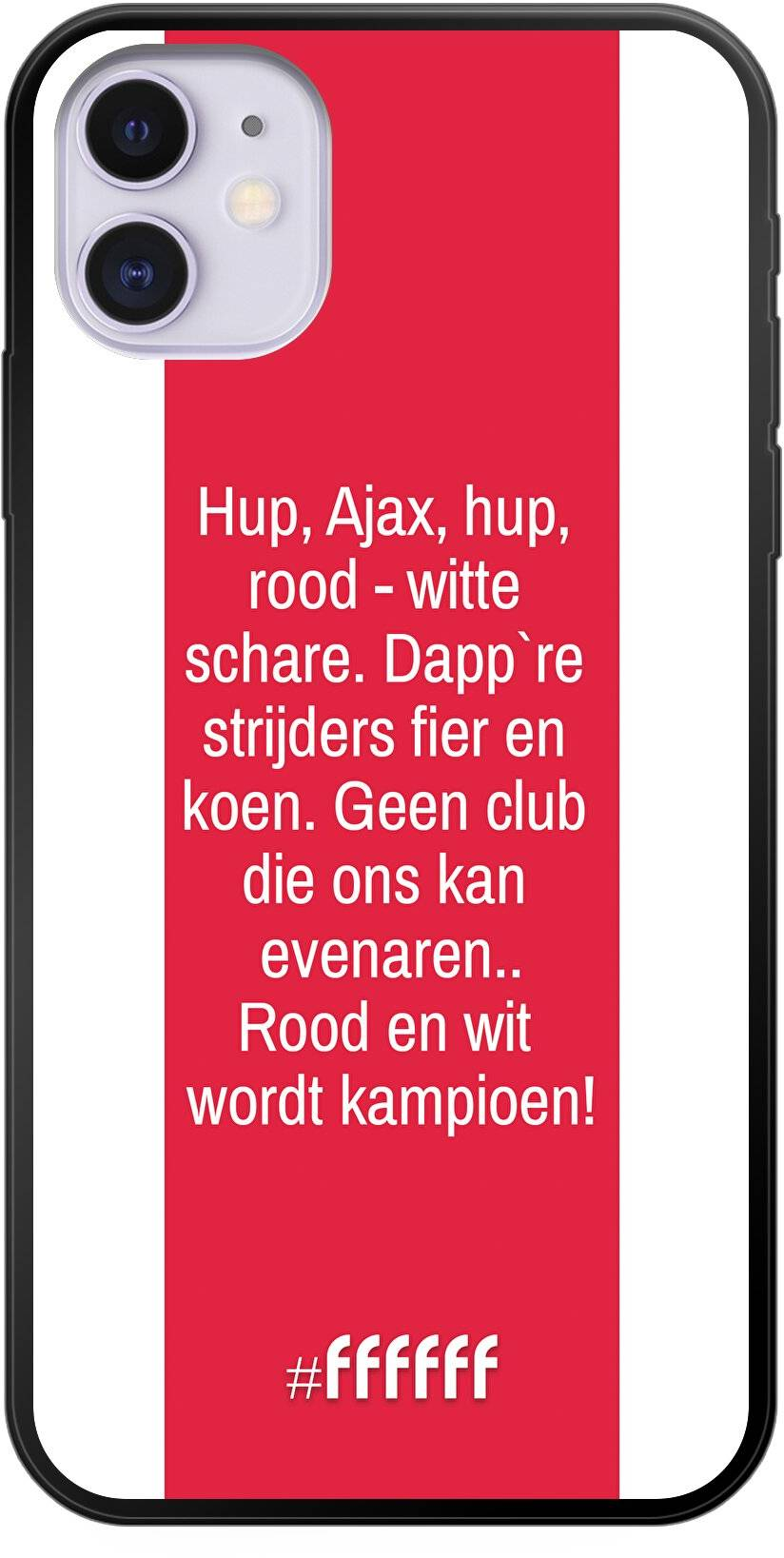 AFC Ajax Clublied iPhone 11