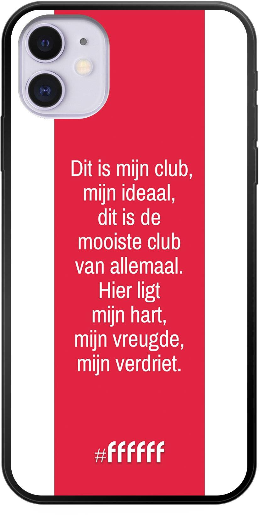 AFC Ajax Dit Is Mijn Club iPhone 11