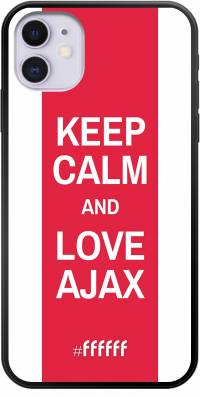 AFC Ajax Keep Calm iPhone 11