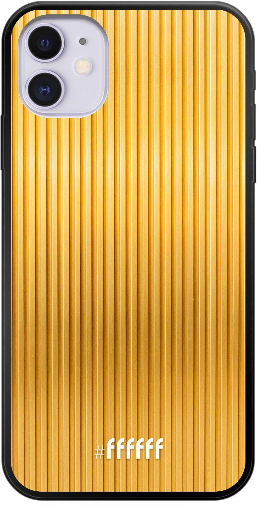 Bold Gold iPhone 11