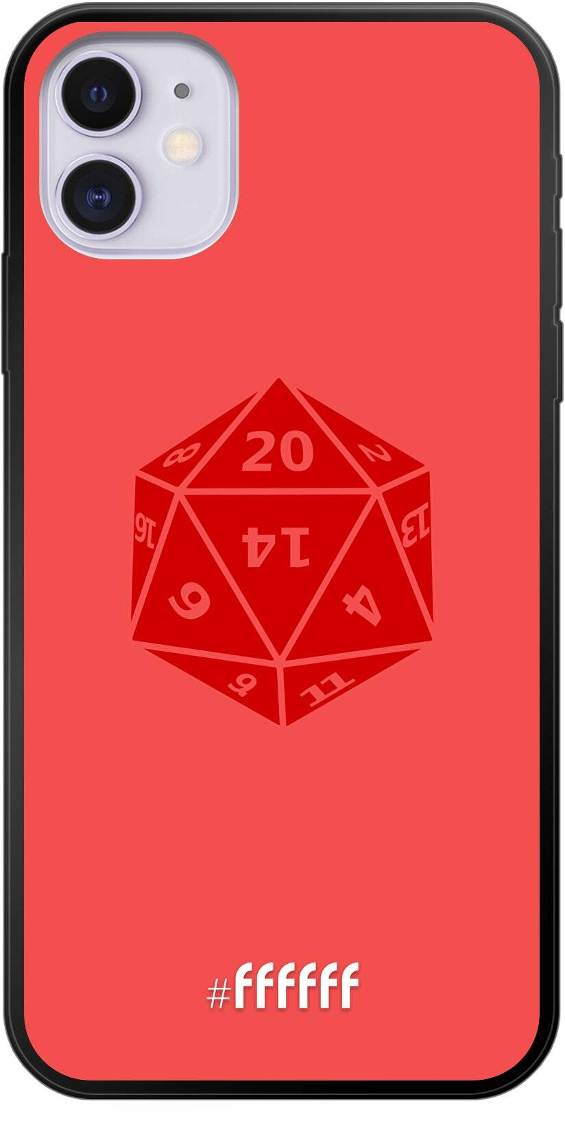D20 - Red iPhone 11