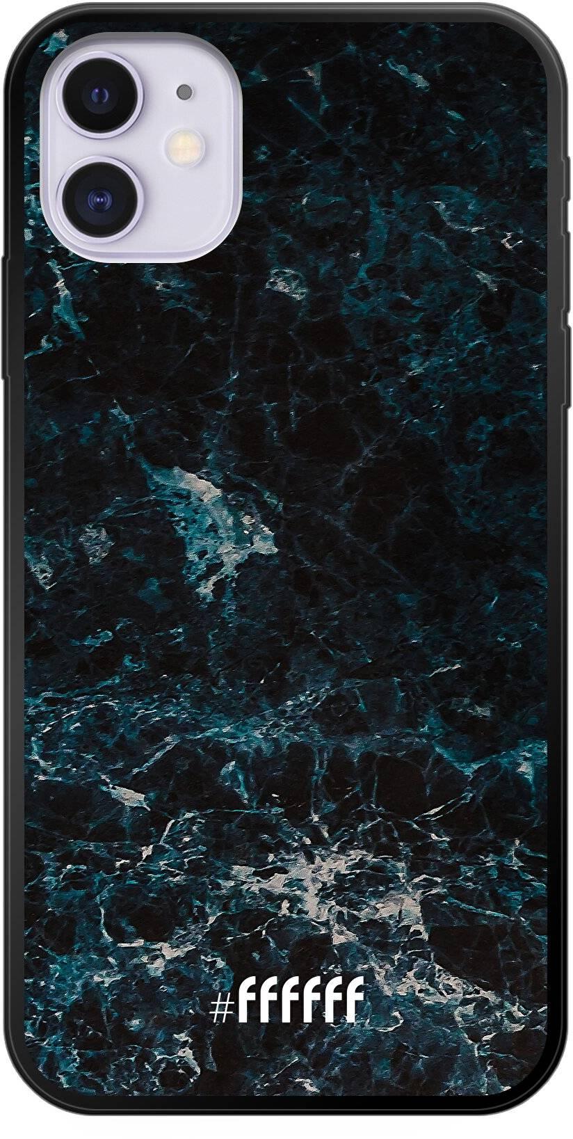 Dark Blue Marble iPhone 11