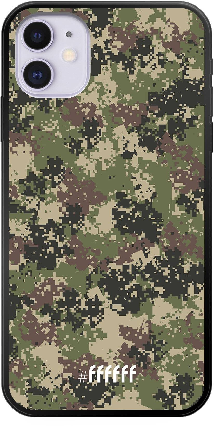 Digital Camouflage iPhone 11