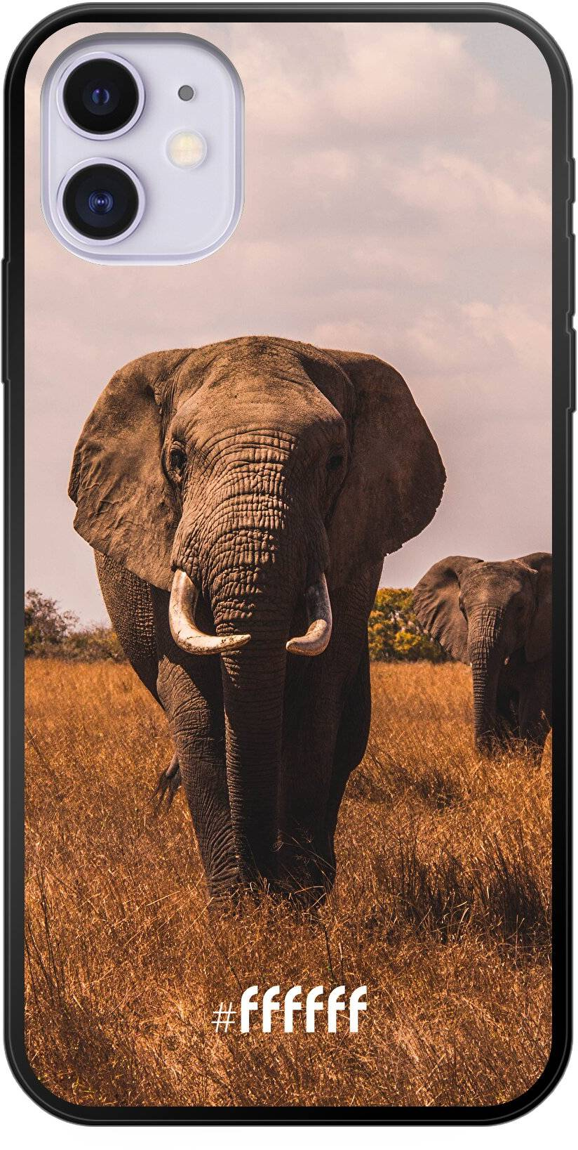 Elephants iPhone 11