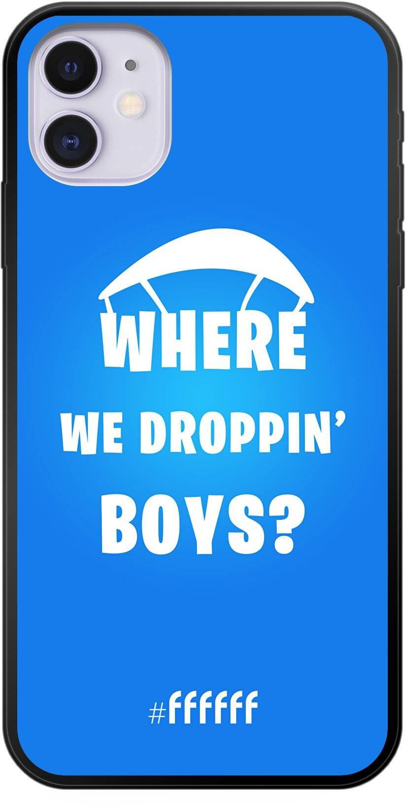 Fortnite - Where We Droppin' Boys iPhone 11