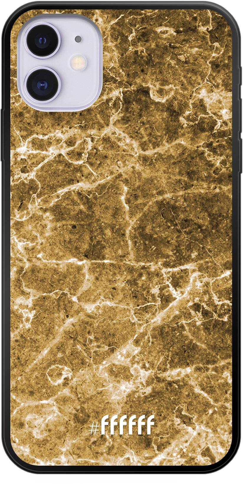 Gold Marble iPhone 11