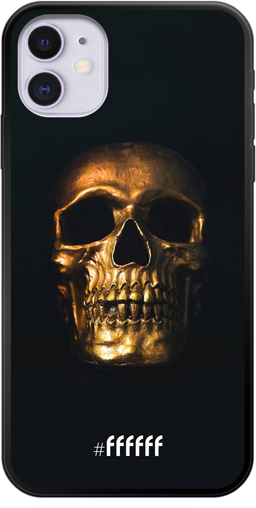 Gold Skull iPhone 11
