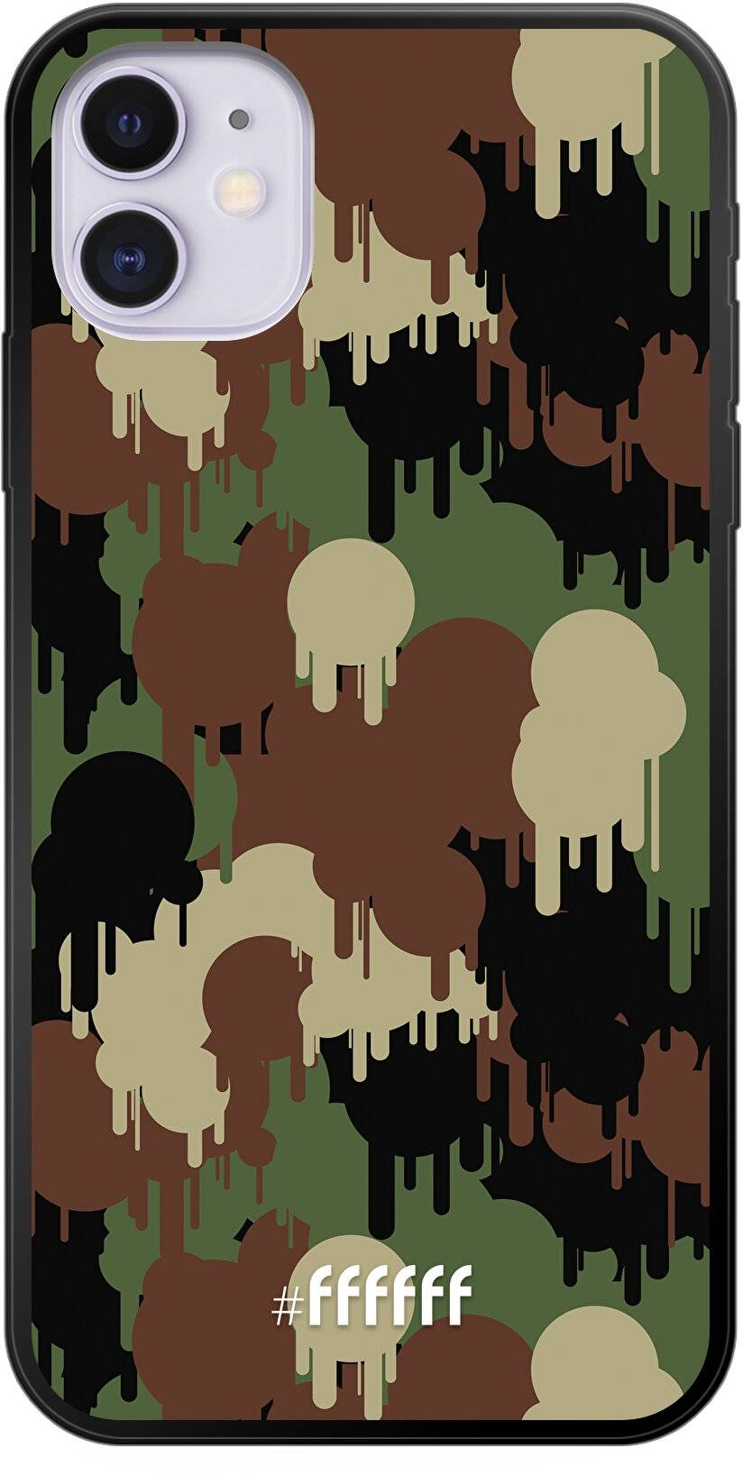 Graffiti Camouflage iPhone 11