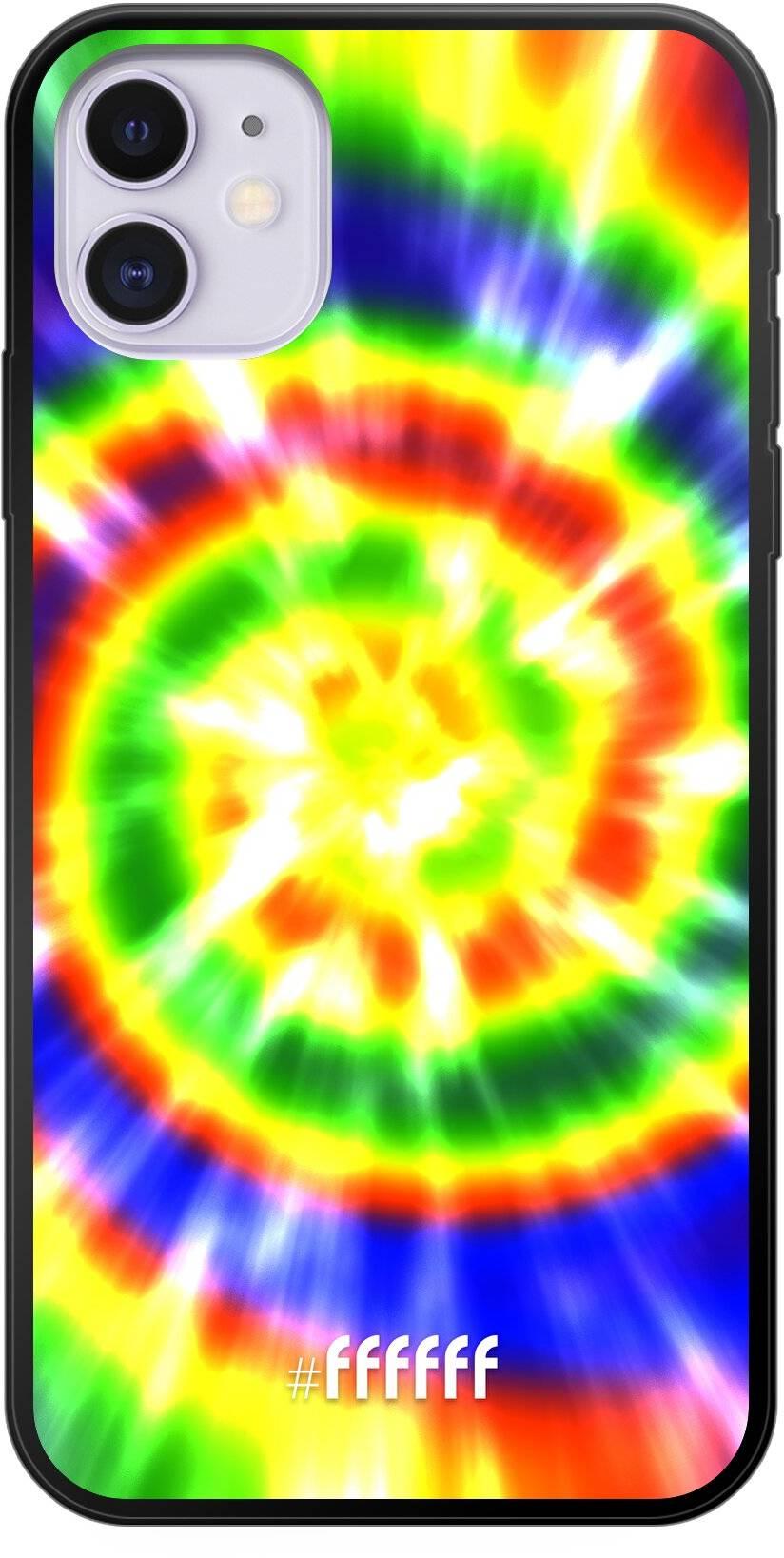 Hippie Tie Dye iPhone 11
