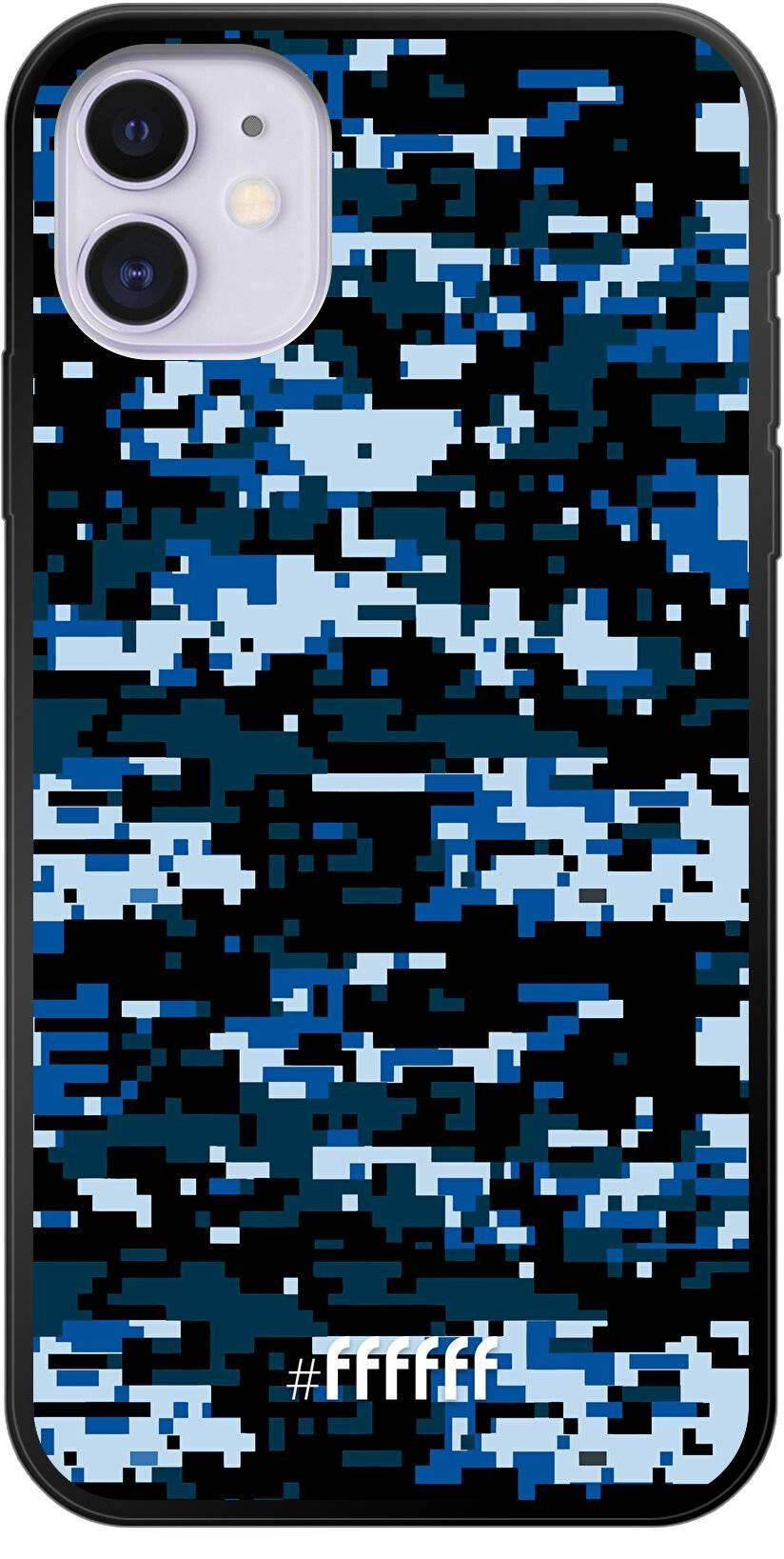 Navy Camouflage iPhone 11