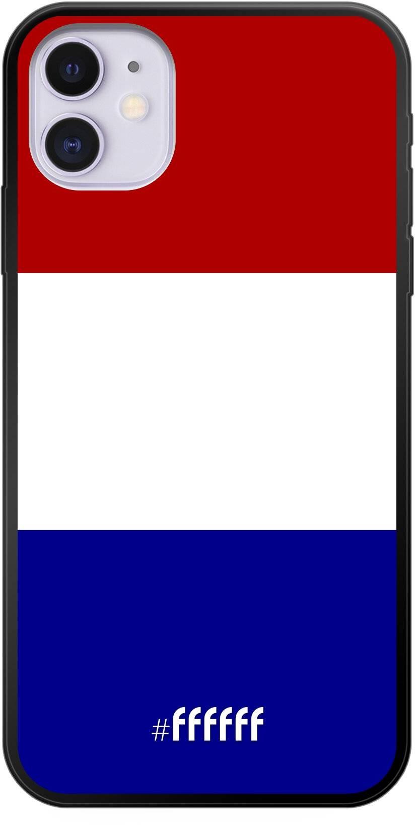 Nederlandse vlag iPhone 11