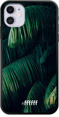 Palm Leaves Dark iPhone 11