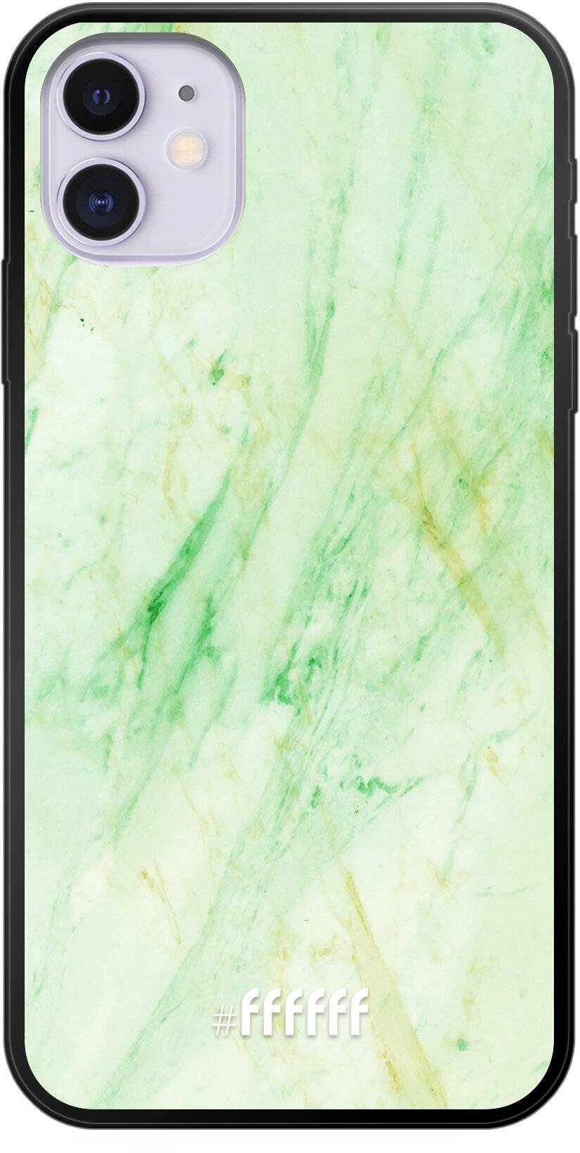Pistachio Marble iPhone 11