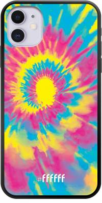 Psychedelic Tie Dye iPhone 11
