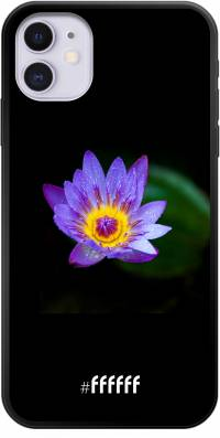 Purple Flower in the Dark iPhone 11