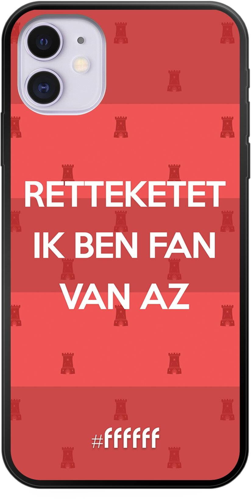 Retteketet ik ben fan van AZ iPhone 11
