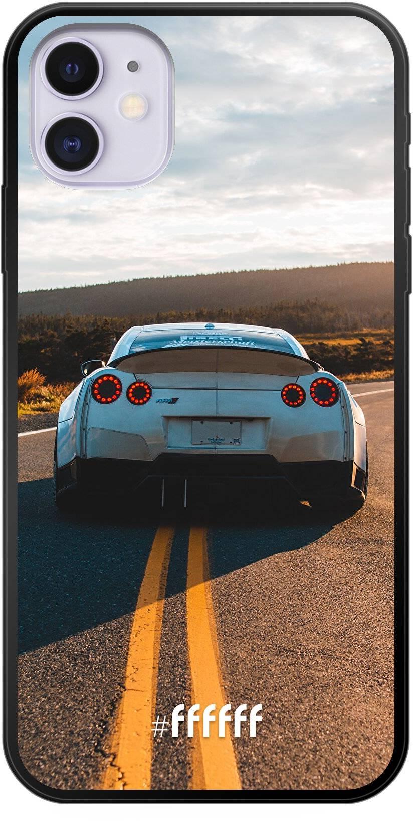 Silver Sports Car iPhone 11
