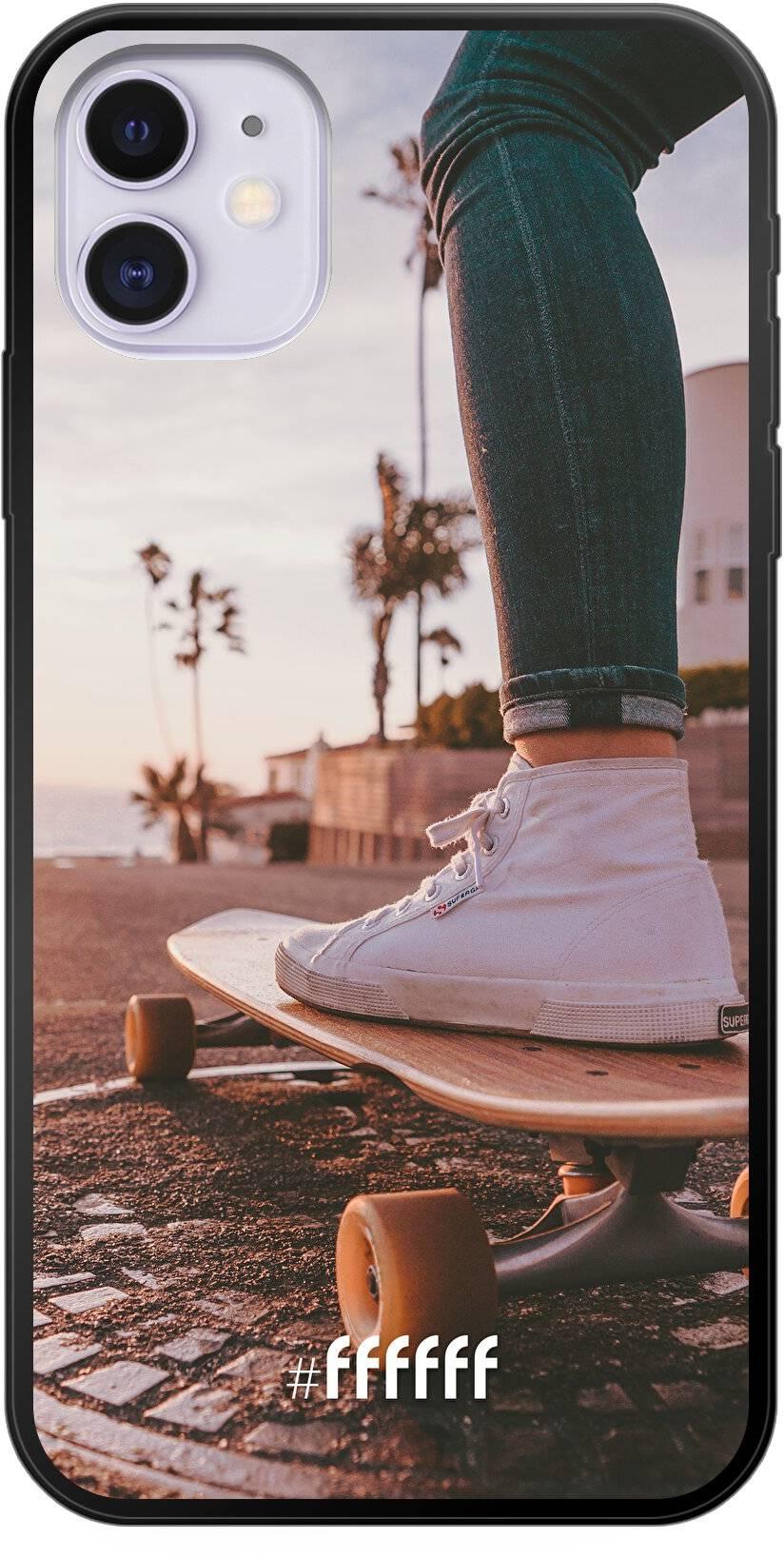 Skateboarding iPhone 11