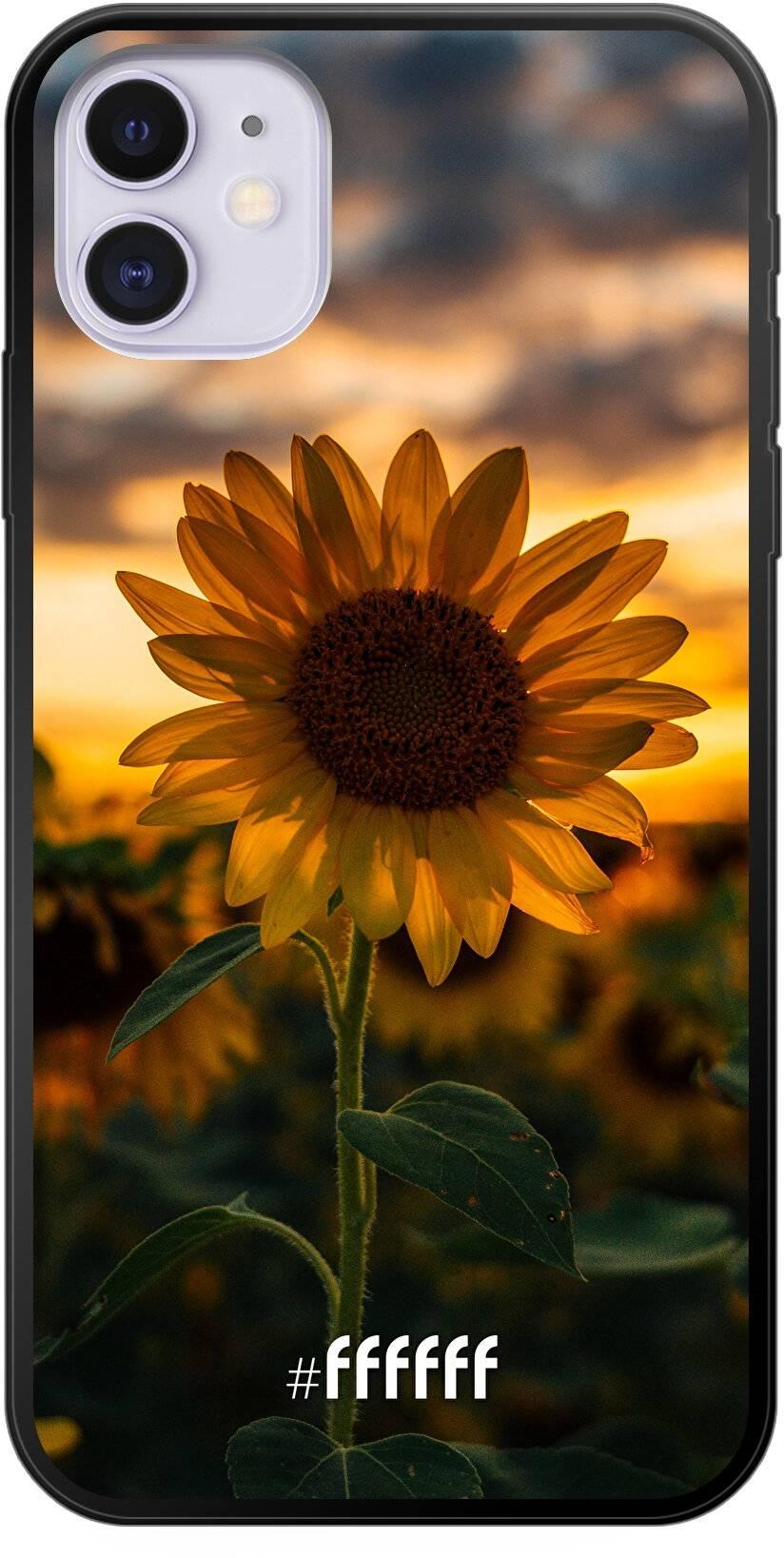 Sunset Sunflower iPhone 11
