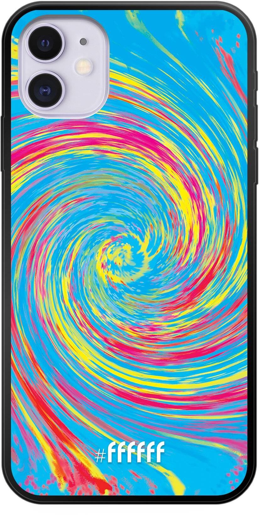 Swirl Tie Dye iPhone 11