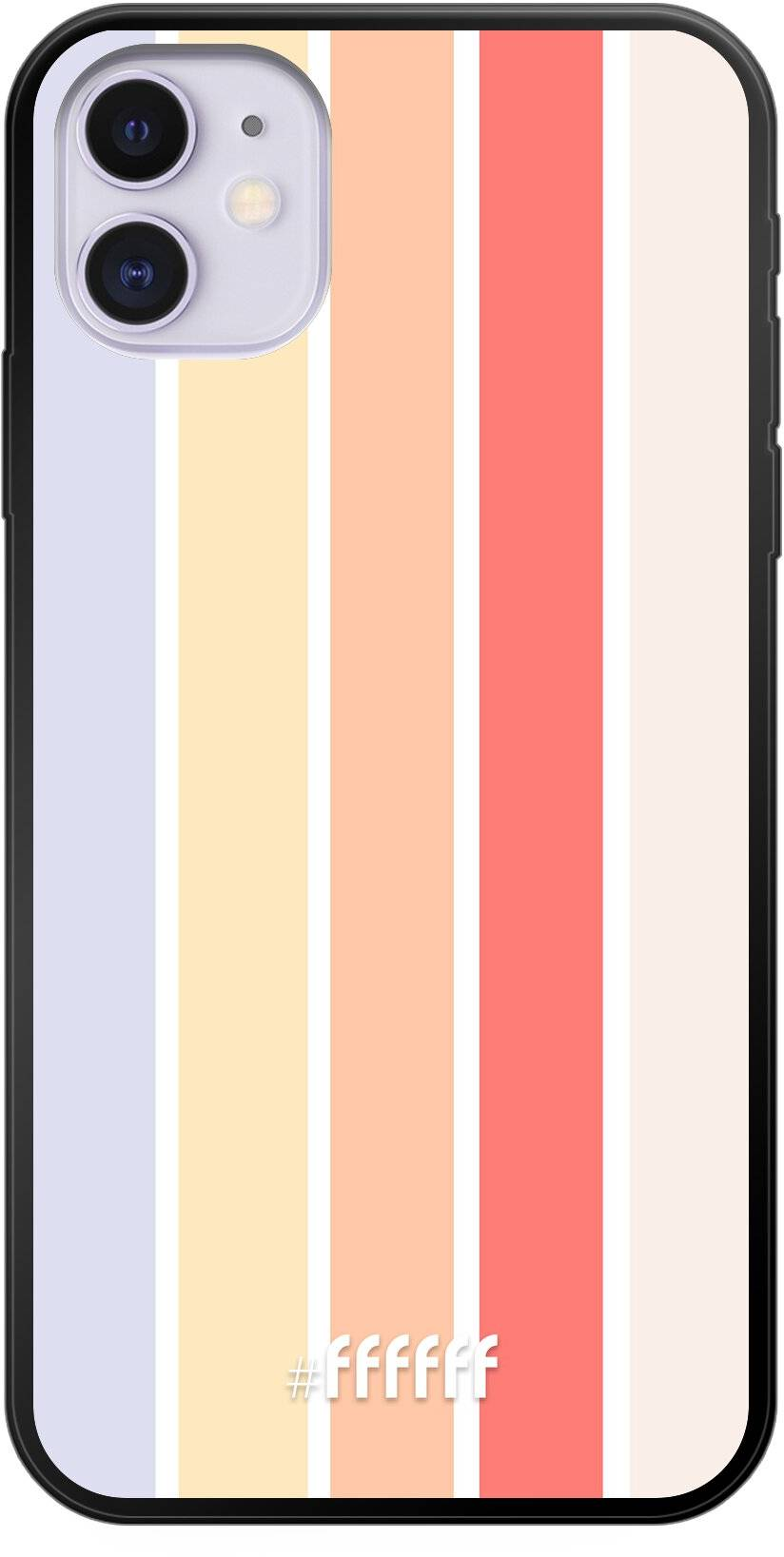 Vertical Pastel Party iPhone 11
