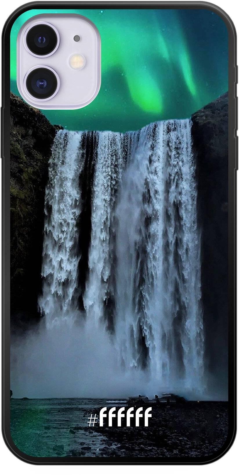 Waterfall Polar Lights iPhone 11