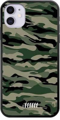 Woodland Camouflage iPhone 11