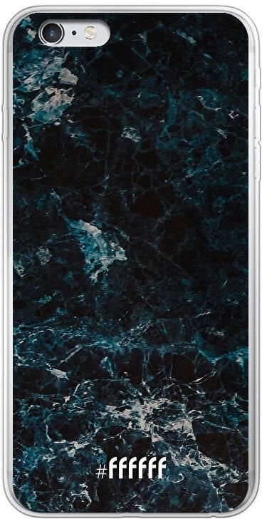 Dark Blue Marble iPhone 6s Plus