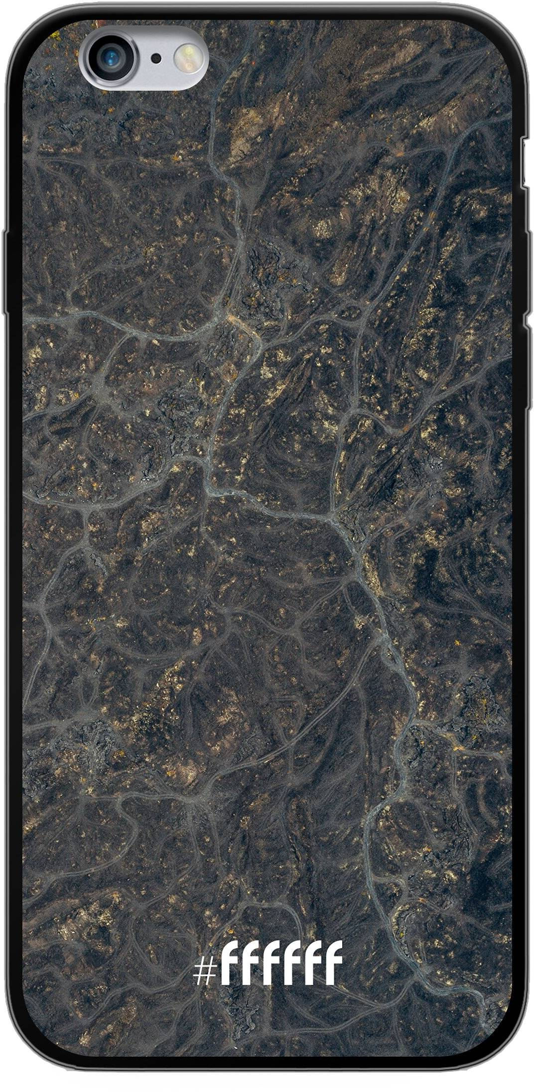 Golden Glitter Marble iPhone 6s