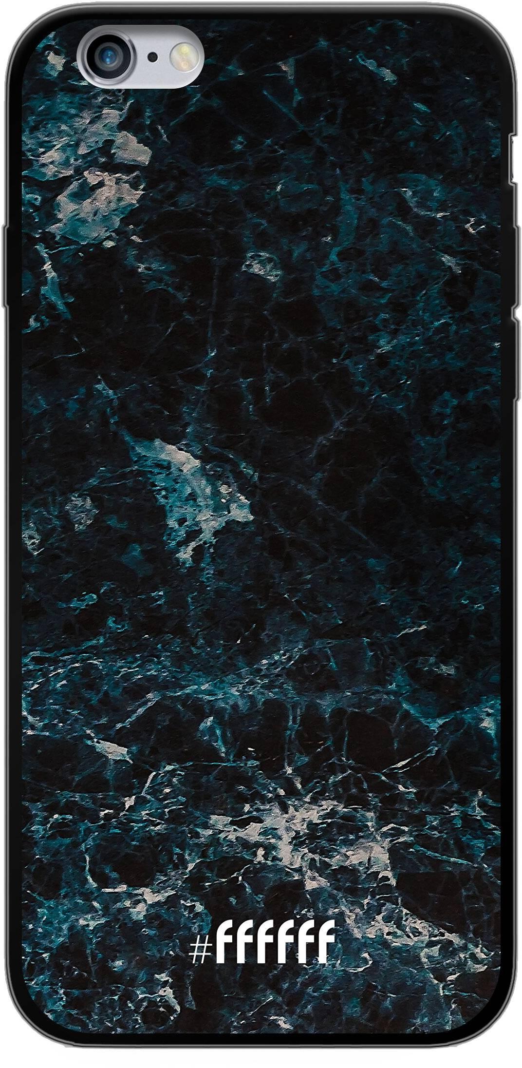 Dark Blue Marble iPhone 6