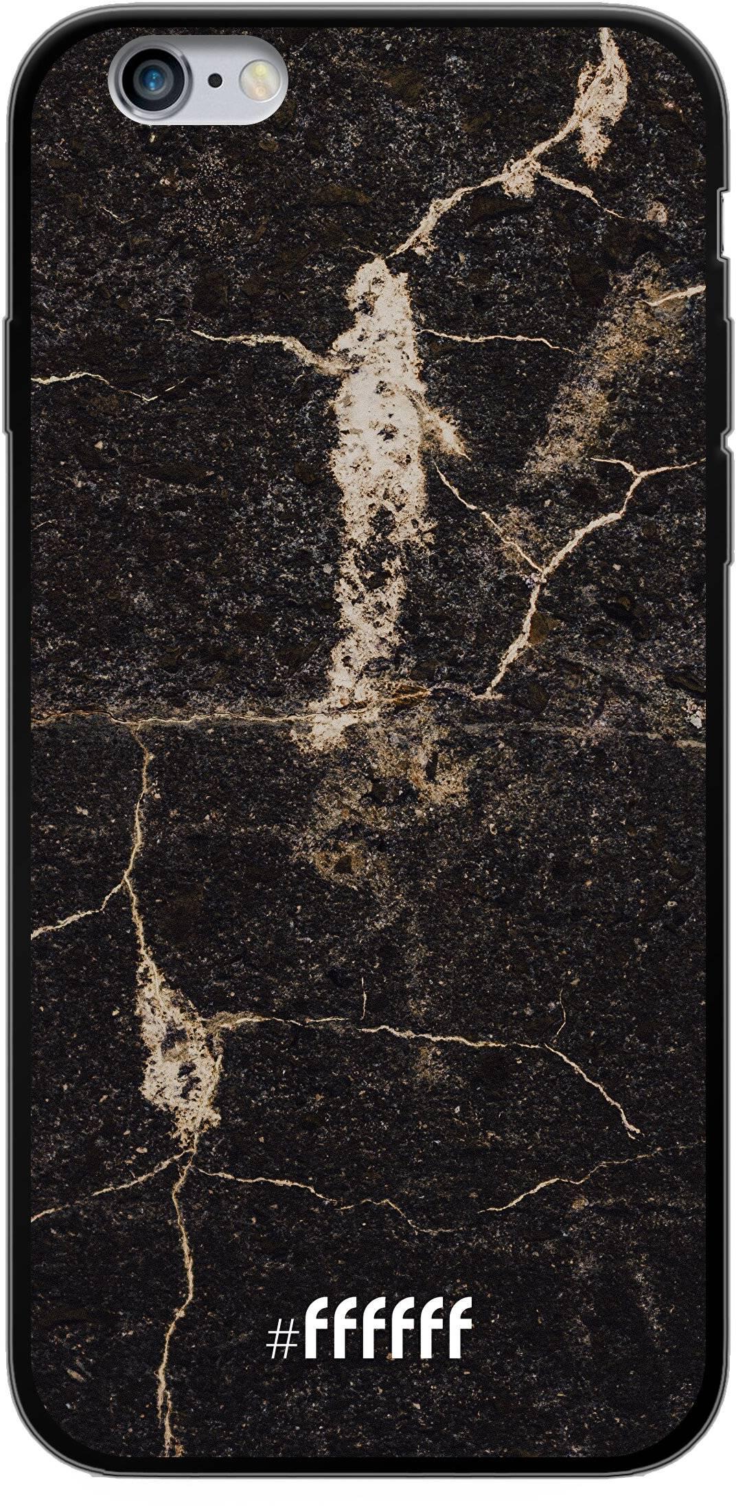Dark Golden Marble iPhone 6