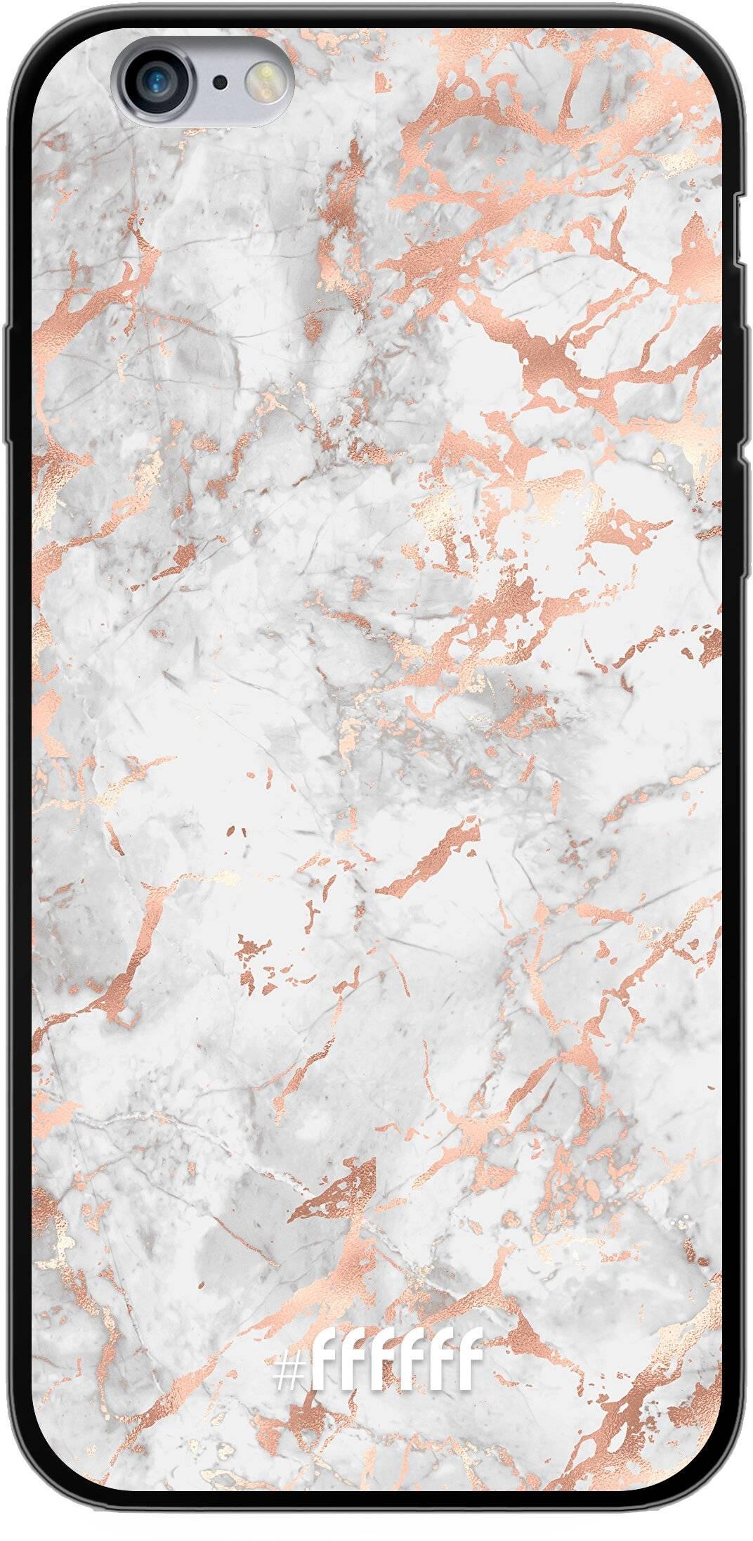 Peachy Marble iPhone 6