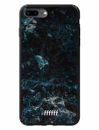 Dark Blue Marble iPhone 7 Plus