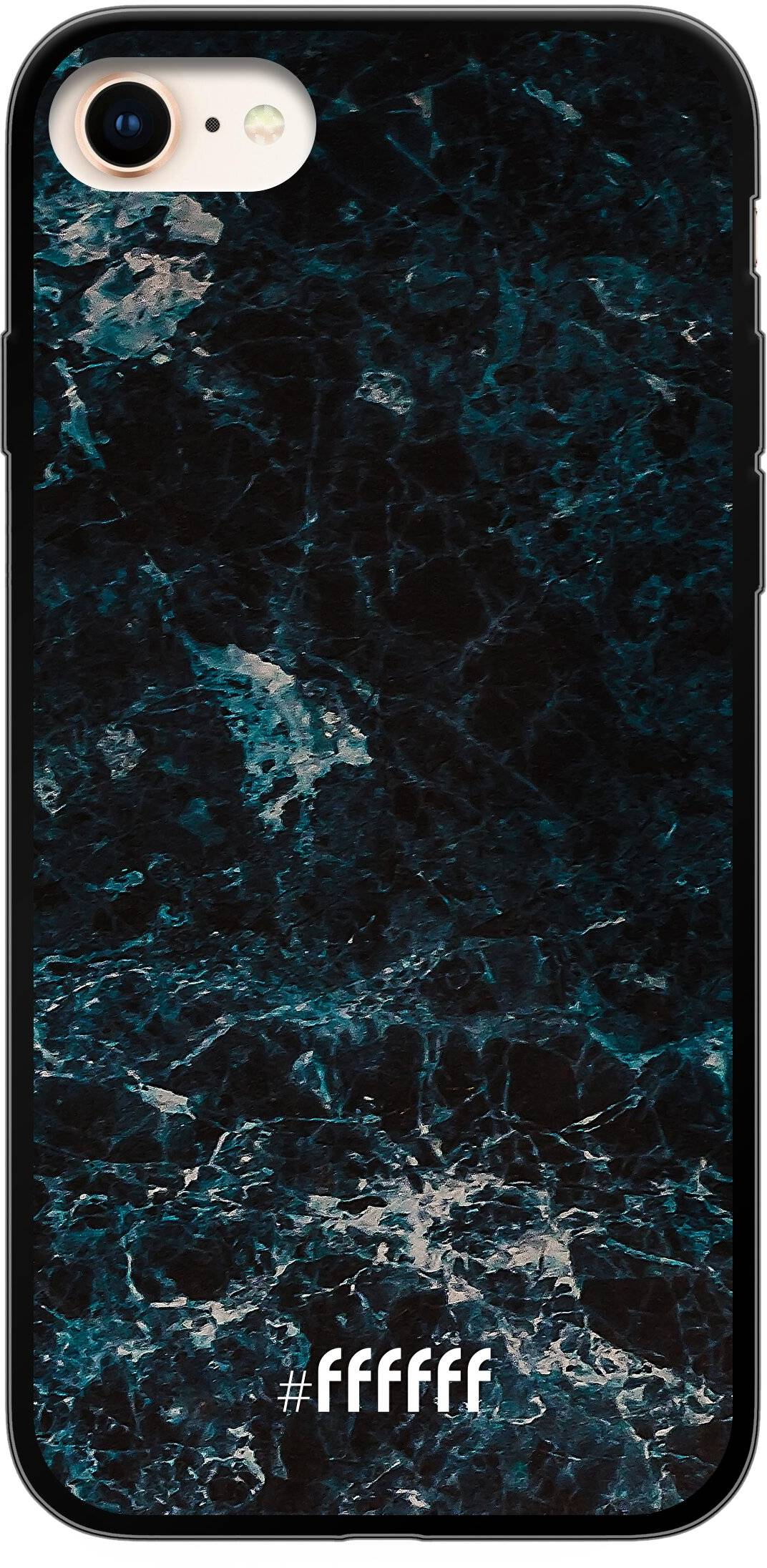 Dark Blue Marble iPhone 7