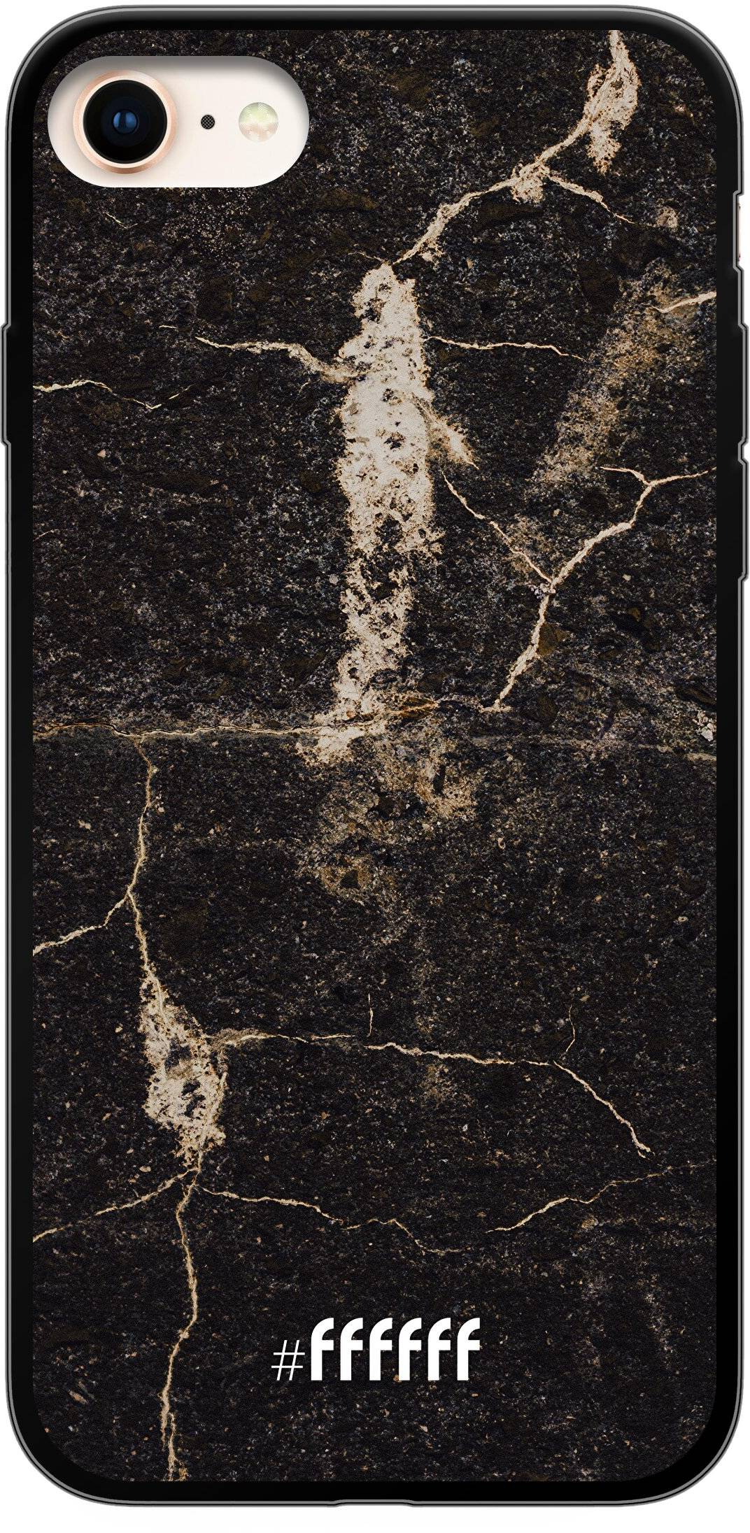 Dark Golden Marble iPhone 7