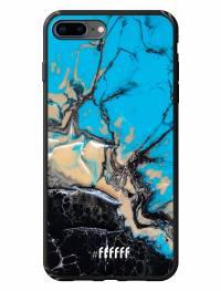 Blue meets Dark Marble iPhone 8 Plus