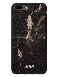 Dark Golden Marble iPhone 8 Plus