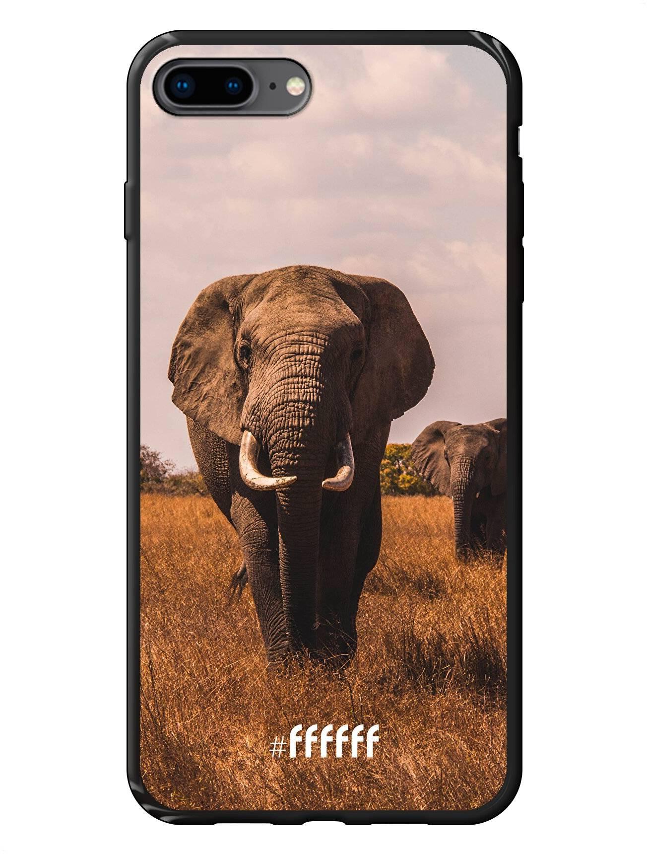 Elephants iPhone 8 Plus