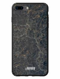 Golden Glitter Marble iPhone 8 Plus
