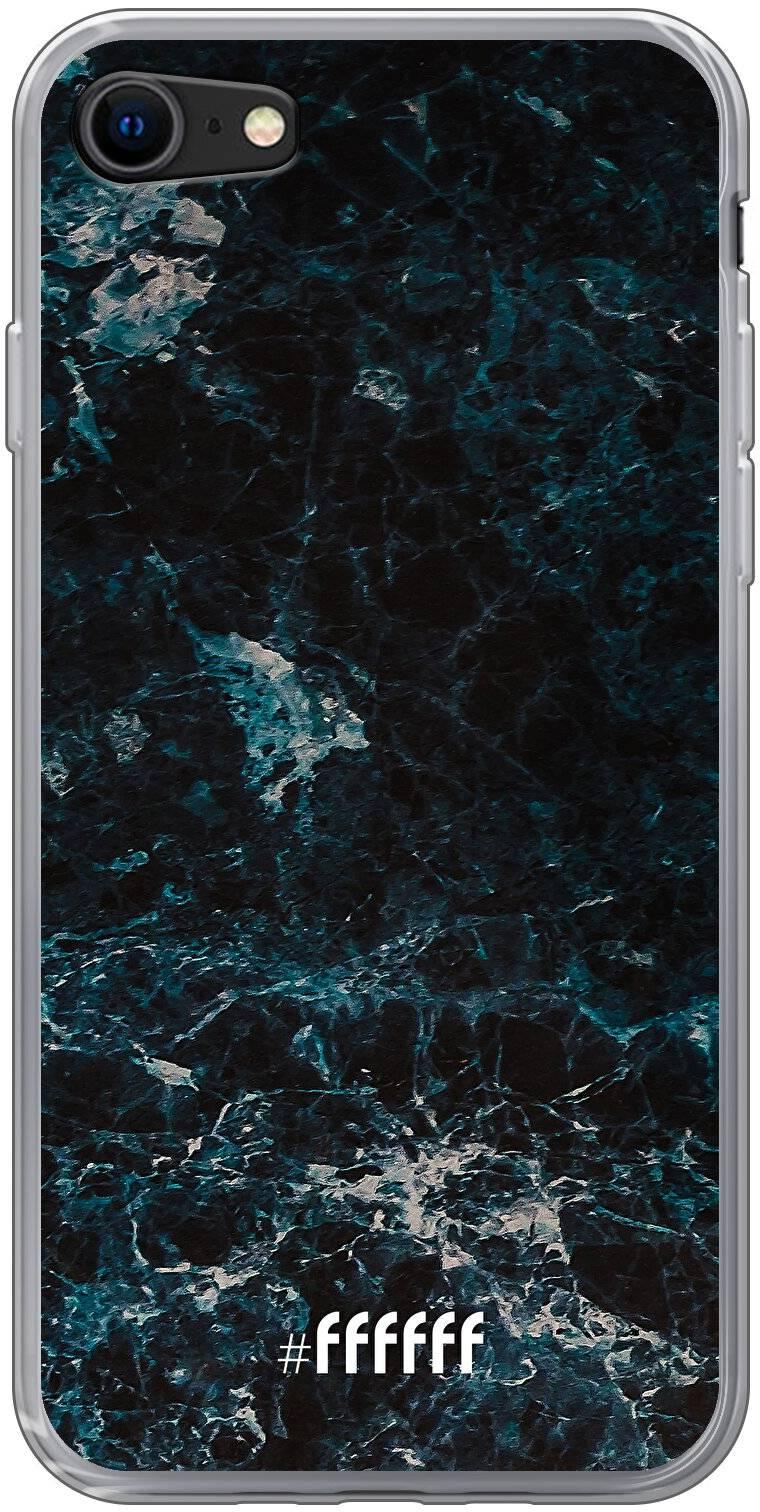 Dark Blue Marble iPhone 8